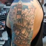 10-carl huggins custom tattoo artist studio evovle