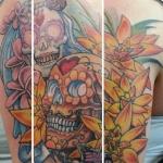 Carl Huggins custom tattoo artist virginia beach