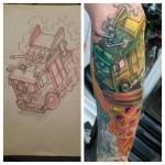 11-carl huggins custom tattoo artist studio evovle