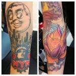 13-carl huggins custom tattoo artist studio evovle