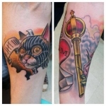 16-carl huggins custom tattoo artist studio evovle