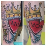17-carl huggins custom tattoo artist studio evovle