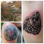 18-carl huggins custom tattoo artist studio evovle