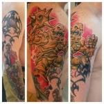 2-carl huggins custom tattoo artist studio evovle