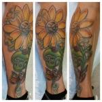 20-carl huggins custom tattoo artist studio evovle