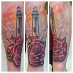 22-carl huggins custom tattoo artist studio evovle