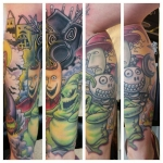 23-carl huggins custom tattoo artist studio evovle