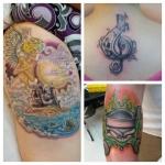 26-carl huggins custom tattoo artist studio evovle