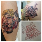 28-carl huggins custom tattoo artist studio evovle
