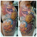 29-carl huggins custom tattoo artist studio evovle