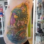 3-carl huggins custom tattoo artist studio evovle