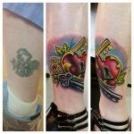 30-carl huggins custom tattoo artist studio evovle