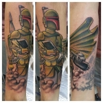 33-carl huggins custom tattoo artist studio evovle