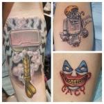 34-carl huggins custom tattoo artist studio evovle