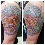 36-carl huggins custom tattoo artist studio evovle