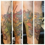 37-carl huggins custom tattoo artist studio evovle
