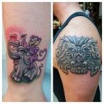 39-carl huggins custom tattoo artist studio evovle