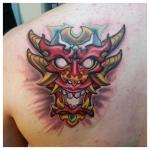 40-carl huggins custom tattoo artist studio evovle