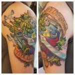 carl huggins custom tattoo artist studio evovle