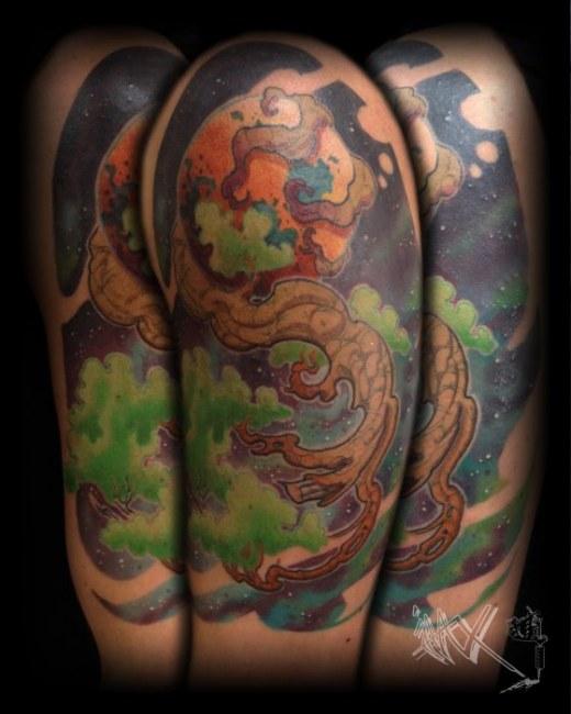 Vall custom tattoo artist virginia beach studio evolve for Studio 42 tattoo