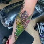 Pine Cone Tattoo by Lucy Lou