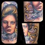 Tattoo by Marshal Sinclair. Virginia Beach. Studio Evolve