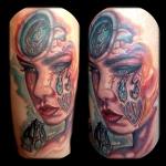 Tattoo by Marshal Sinclair. Virginia Beach