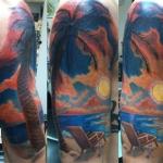 Sierra Orrick tattoo artist virginia beach