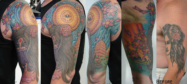 cover up tattoo in virginia | Studio Evolve Tattoo