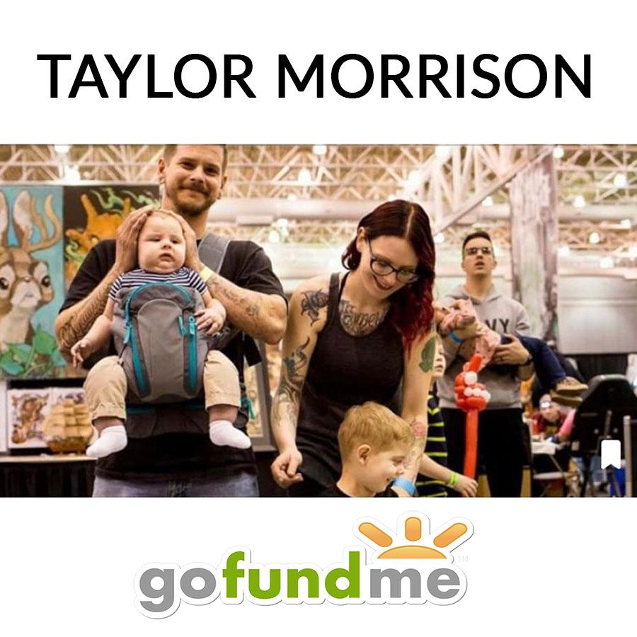 Taylor Morrison's Go Fund Me